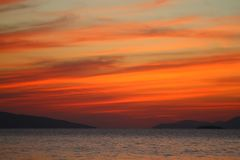 Free Seaside Town Of Turgutreis And Spectacular Sunsets. Stock Photos - 159976023