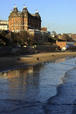 Seaside town of Scarborough - England Royalty Free Stock Photo