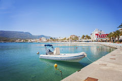 Seaside town of Sitia Stock Images