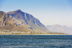 Seaside Town South Africa Royalty Free Stock Photos