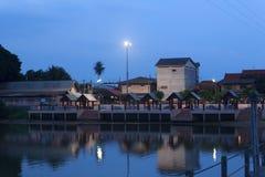 Seaside town Royalty Free Stock Image
