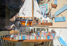 Seaside toys and gift shop Royalty Free Stock Image
