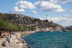 Seaside in Trieste Stock Photography