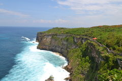 Seaside at Uluwatu Sacral Temple - Bali Island, Indonesia Stock Image