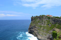 Seaside at Uluwatu Sacral Temple - Bali Island, Indonesia Royalty Free Stock Images