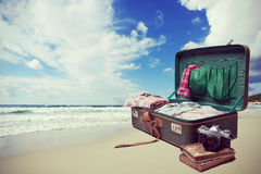 Seaside vacations Stock Images