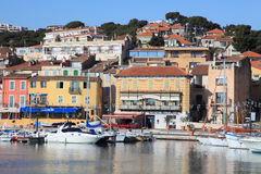 Seaside view of Cassis Stock Photo