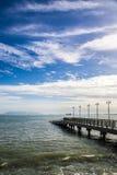Seaside. View at Eastern & Oriental Hotel, Penang, Malaysia Stock Photos