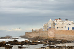 Seaside view of Essaouria, Morocco Stock Image