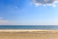 Seaside view Royalty Free Stock Images
