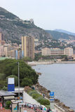 Seaside view of Monaco Monte-Carlo Stock Photos