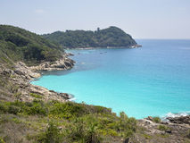Seaside View of Perhentian Island, Malaysia Stock Images