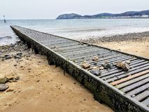 Seaside view stock image