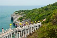 Seaside view at srichang island Royalty Free Stock Image