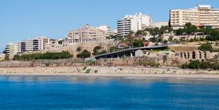 Seaside view of  Tarragona Royalty Free Stock Image