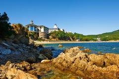 The seaside villa Stock Photography