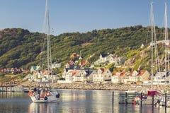 Seaside village of Molle Sweden Stock Image