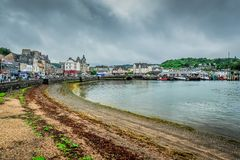 The town of Oban Royalty Free Stock Photo