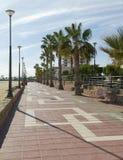 Seaside Walkiway, Aguilas Town. Seaside Walkway,Aguilas Town, Murcia Province, Spain Stock Photos