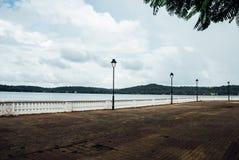 Seaside walkway Royalty Free Stock Image