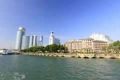 Seaside of xiamen island, china Royalty Free Stock Photo
