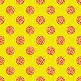 Seasmess-Vektormuster mit Zitrusfruchtschnitt Stockfoto