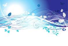 Season banner for your design Royalty Free Stock Photos