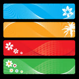 Season banner for your design Stock Image