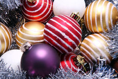 Season baubles Royalty Free Stock Photography