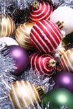 Season baubles Stock Images