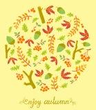 Season card Royalty Free Stock Image