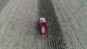 Harvester stock footage