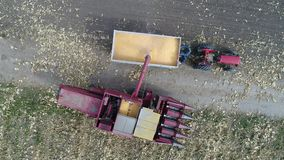 Harvester stock video