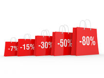 Season of discounts Stock Image