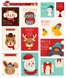 Season greeting card Stock Photos