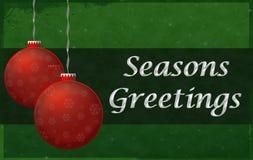Season Greetings Sign Stock Images