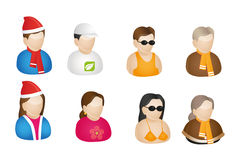 Season Icons. That can be used for corporate designs, websites icons and others Stock Photo