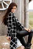Season and people concept - Autumn portrait of happy girl. Outdoor beauty portrait woman, fashion model, pretty girl, street style stock photography