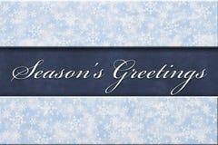 Season`s Greeting Message Stock Photos