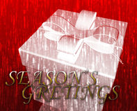 Season's greetings. Festive special occasion celebration abstract illustration Royalty Free Stock Photo