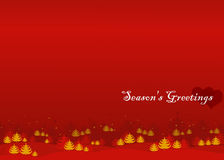 Season's greetings Stock Image