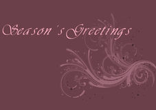 Season's greetings 2 Royalty Free Stock Photography
