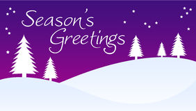 Season's Greetings Royalty Free Stock Image