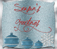 Season's greetings. Background of glitter with copy space Royalty Free Stock Photos