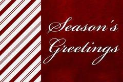 Season's Greetings Stock Photo