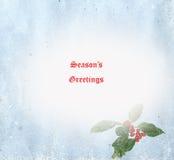 Season\\\'s Greetings Card Illustration Stock Photography