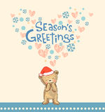 Season's greetings Stock Images