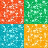Season's seamless  patterns Stock Image