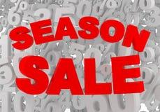 Season sale Stock Image