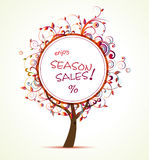 Season Sale Stock Photo